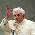 Pope Benedict Photo: AFP