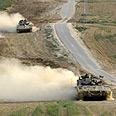 IDF patroling Gaza border Photo: Reuters