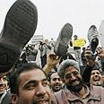 Shoe attack (Illustration) Photo: AFP