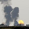 Gaza military strike Photo: Reuters