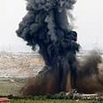 IAF strikes in Gaza Photo: AP