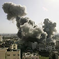 Strike on northern Gaza Photo: Reuters