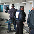 Beersheba school after attack Photo: Regev Kelef