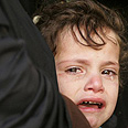 Palestinian girl in Gaza Photo: Reuters