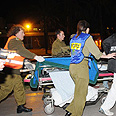Injured rushed to hospital Photo: George Ginsburg