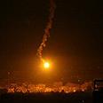 Gaza under fire Photo: AFP