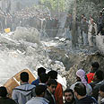January 2009 bombing Photo: AFP