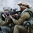 IDF soldiers in Gaza Photo: Matan Hakimi, IDF Spokesman's Office