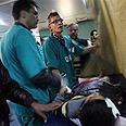 Dr. Gilbert in Gaza Photo: AP