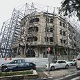 Jerusalem's Waldorf Astoria. Under construction Photo: Shlomi Cohen