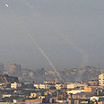 Rocket fire from Gaza (archives) Photo: AP