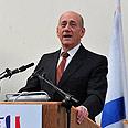 PM Olmert – 100% not true Photo: Dudu Azulay