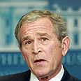 Former US President George W. Bush - no go on bombs Photo: Reuters