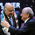 Rajoub (L) with Blatter. 'Sports for us are a part of achieving our national goals' Photo: AFP