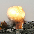 IDF strike in Gaza (archives) Photo: AFP