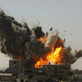 Target hit in Rafah Photo: Reuters