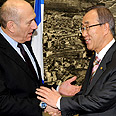 Olmert with UN chief Photo: Moshe Milner, GPO
