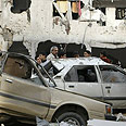 Destruction in Gaza Photo: AFP
