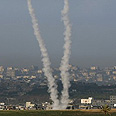 Rocket fire continues Sunday Photo: Reuters