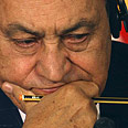 Mubarak. 'Balance of power in Israel's favor' Photo: Reuters