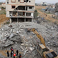 Destruction in Gaza Photo: AP