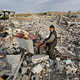 Destruction in Gaza Photo: AP