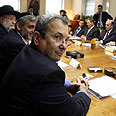 Barak at cabinet meeting (archives) Photo: AFP