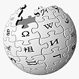 Part of media war? Wikipedia logo