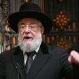 Rabbi Lau. 'Cold and indifferent speech at Yad Vashem' Photo: Gil Yohanan