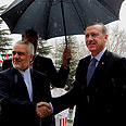 Erdogan and Iranian VP Photo: AP