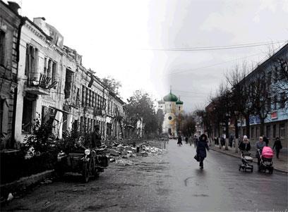 גטצ'ינה, עיירה מדרום ללנינגרד, 1942 ()