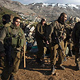 Soldiers on Israel-Syria border Photo: Reuters