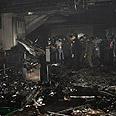Scene of the blast Photo: Reuters