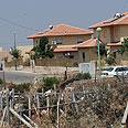 West Bank settlement Photo: Alex Kolomoisky