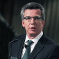 German defense minister Thomas de Maiziere Photo: Getty Images