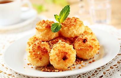 עוגיות קוקוס (צילום: shutterstock)