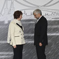 Iran's Jalili and EU's Ashton in Istanbul Photo: MCT