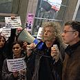 Pro-Palestinian protestors in Paris Photo: Lior Zilberstein, Yedioth Ahronoth