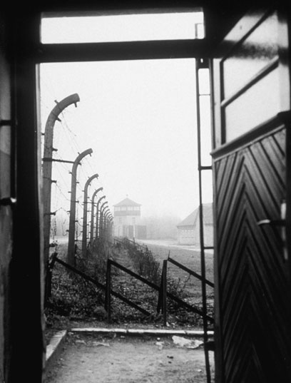 Buchenwald concentration camp. (Photo: Three Lions)