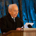 Peres. 'We must face threats' Photo: Ben Kelmer