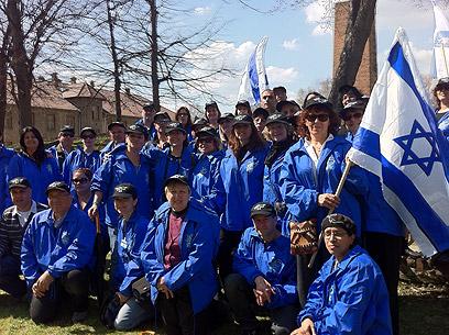 משלחת משרד המשפטים למצעד בפולין (צילום: באדיבות דובר משרד המשפטים)
