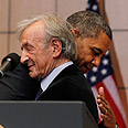 Obama and Wiesel Photo: Reuters