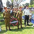 The Kirat Shaul Military Cemetery Photo: Moti Kimchi