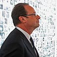 Hollande at museum Photo: Reuters