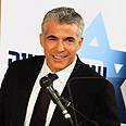 'We dont hate haredim.' Lapid Photo: Ofer Amram
