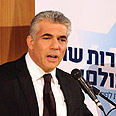 Lapid. The biggest loser Photo: Ofer Amram