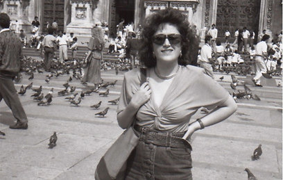 Anat Levy in the '80s (Photo: Anat Levy)