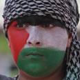 Rally in Ramallah Photo: Gil Yohanan