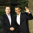 US President Obama and UK PM Cameron Photo: MCT