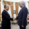 IAEA chief with Iranian foreign minister